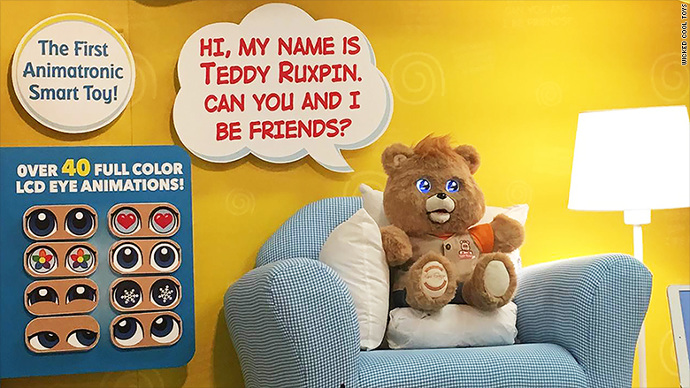 teddy ruxpin return