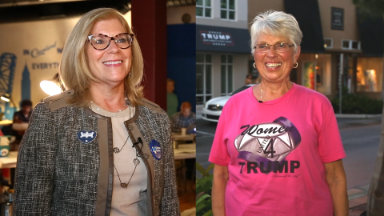 Head to head: Women for Trump and Clinton make their case