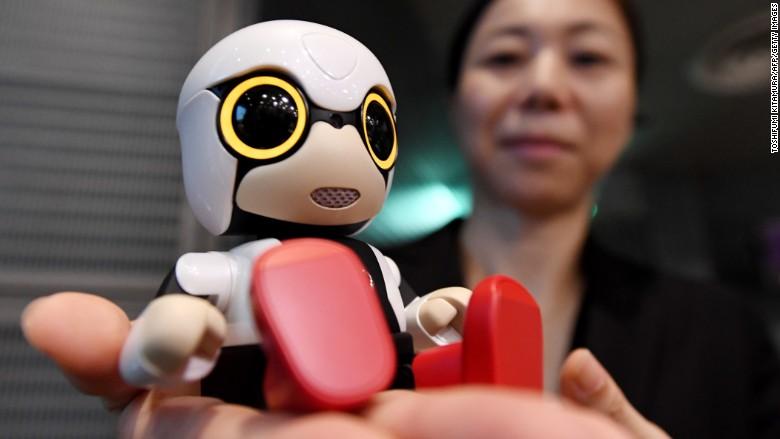 toyota robot kirobo mini
