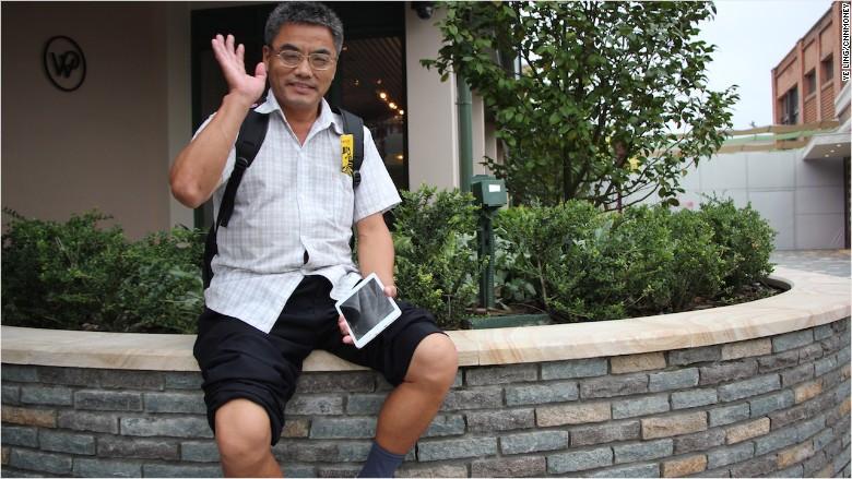 shanghai disney shi guanglin