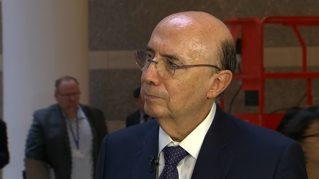 Brazil's Meirelles: Recession will end 'early next year'