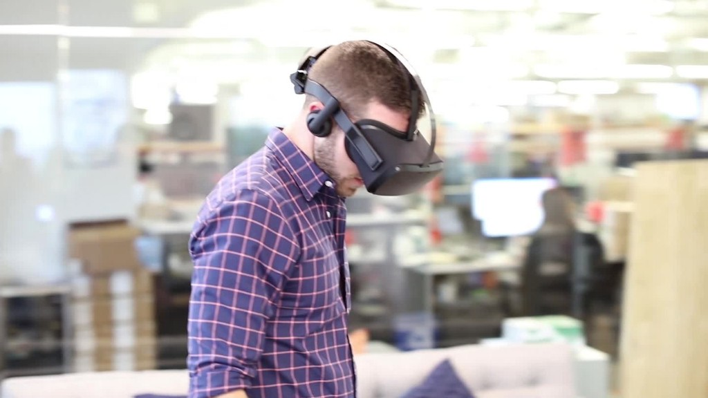 See Zuckerberg's dog Beast in VR, future of Oculus in :60