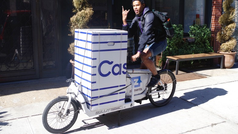 Casper bike courier box