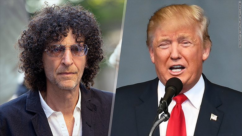 Image result for howard stern trump