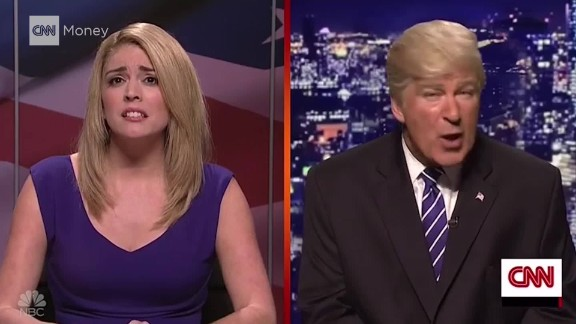 'SNL' and Alec Baldwin take on Trump's hot mic comments