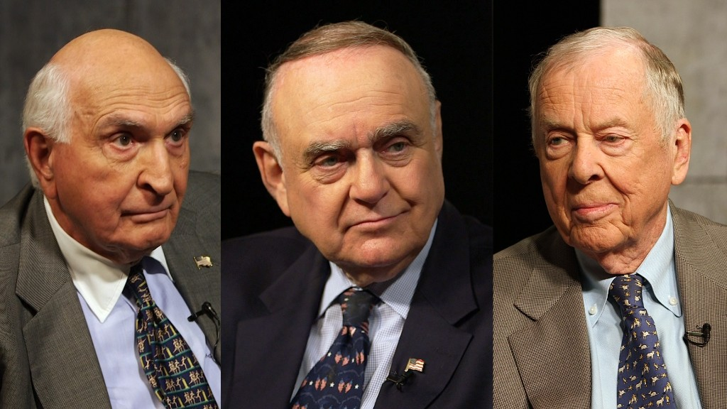 Three very rich guys talk about Trump, taxes, and the 'vilified' 1%