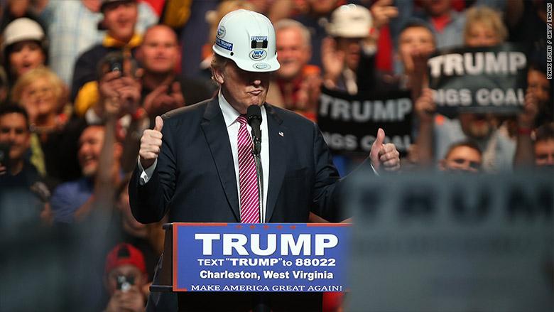 ohio donald trump coal