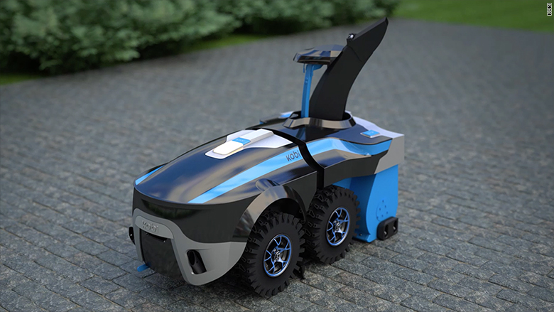 This Robot Will Rake Your Leaves And Shovel Snow