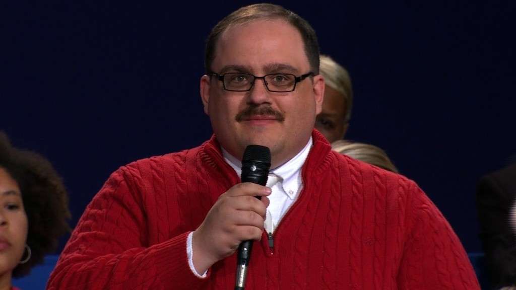 Ken Bone: The winner of the second presidential debate
