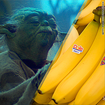 Yoda Says Eat Your Bananas You Will