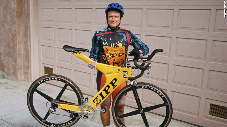 robin williams bicycle auction