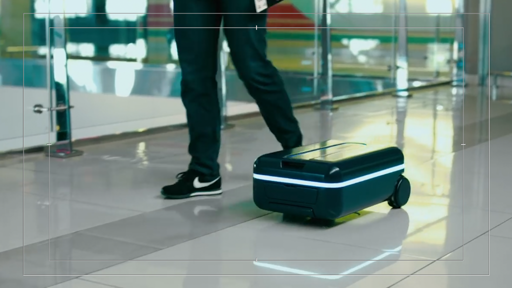 Your luggage could follow you through the airport