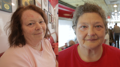 Two Ohio women, 'lifelong Democrats', voting for Trump