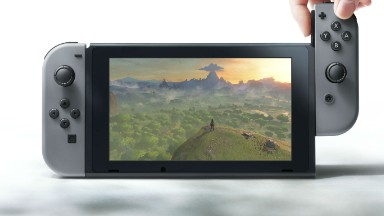 Nintendo Switch console looks like the future of gaming