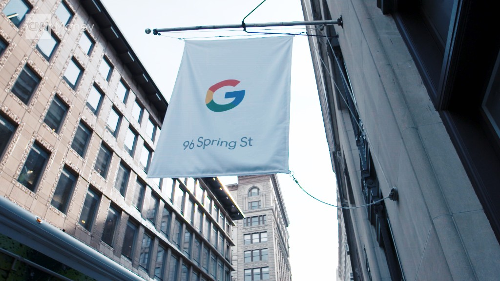 Inside Google's NYC pop-up shop