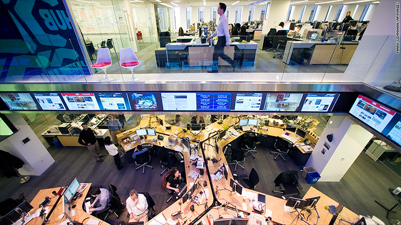 wsj newsroom