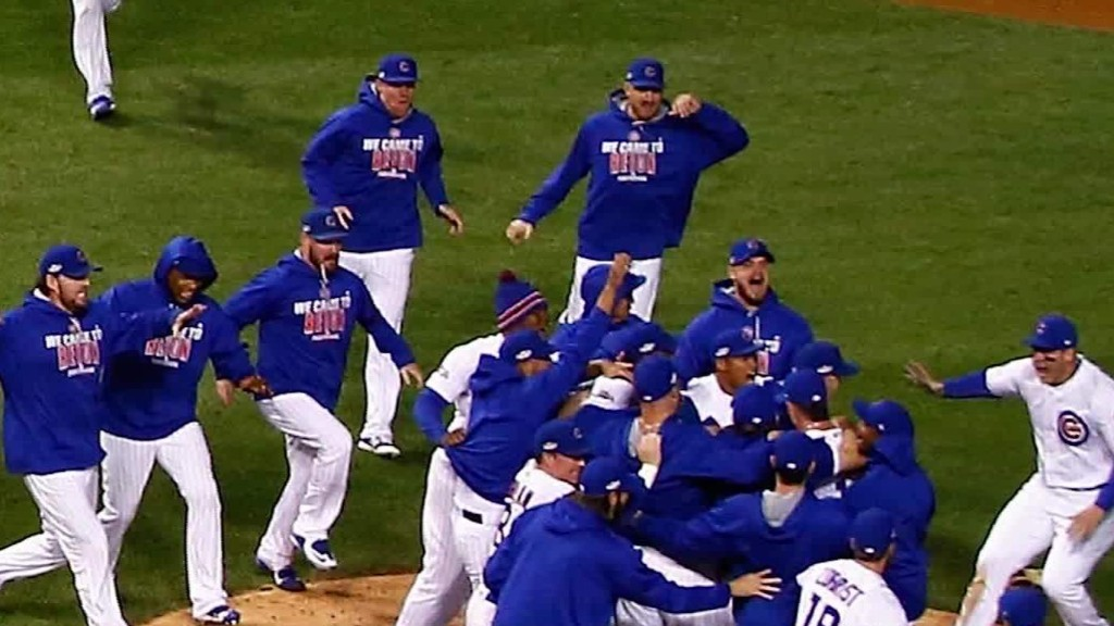 Cubs reach first World Series in 71 years
