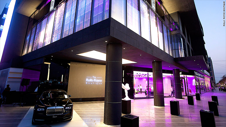 rolls royce boutique