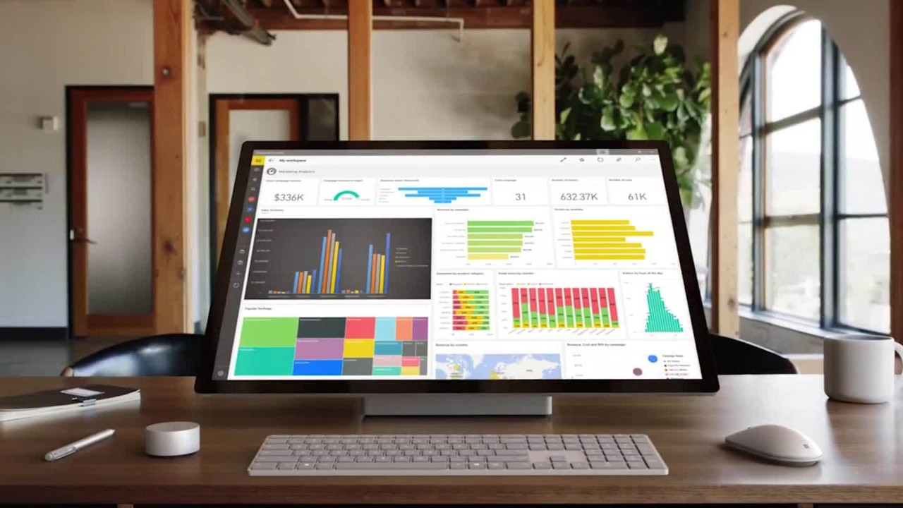 Microsoft Unveils Surface Pc And Windows Updates Video