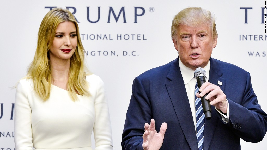 Ivanka's White House role called into question
