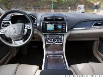 Inside The Lincoln Continental Is Warm And Comforting