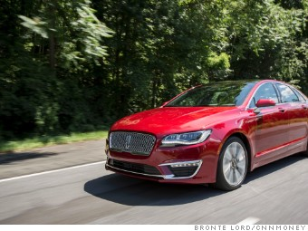 The Lincoln Mkz Smaller Than Continental Has Also Become A Contender In Its Field