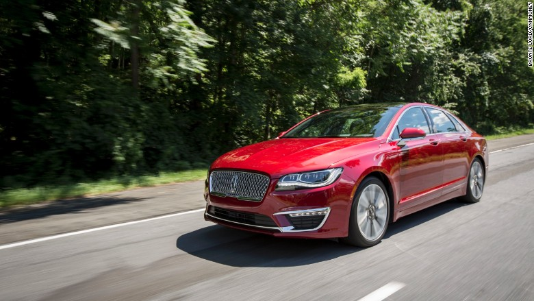 lincoln mkz 2017 driving