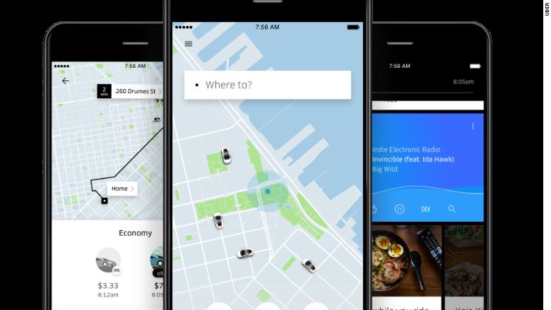 uber updates screenshot