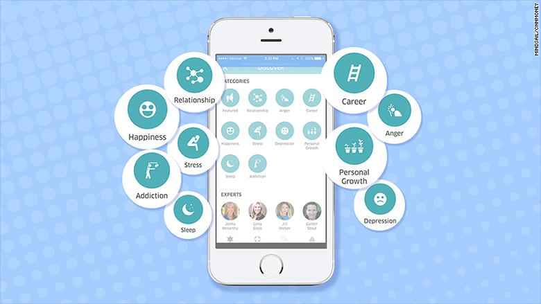 mindsail app screen