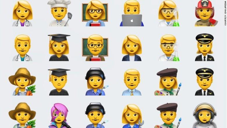 emoji apple proferssions