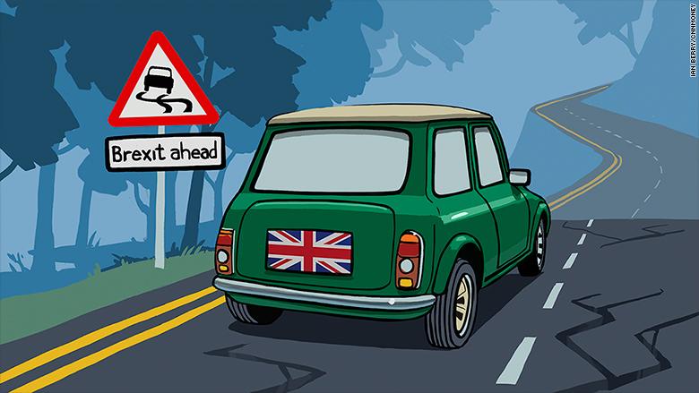 brexit road mini uk british auto car