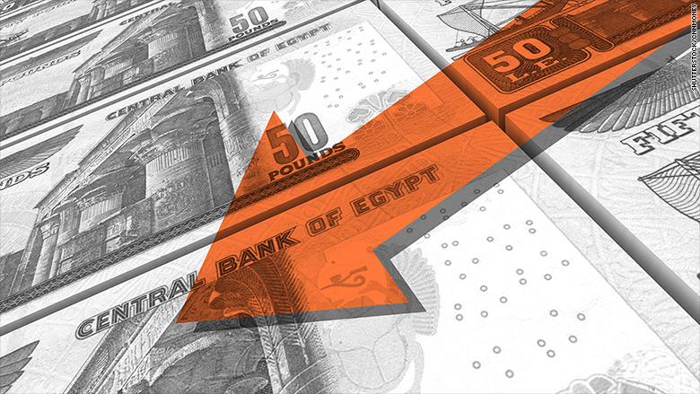 egypt currency crash