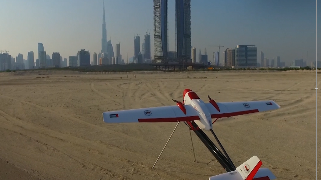 To fight wayward drones, Dubai's deploying a drone hunter