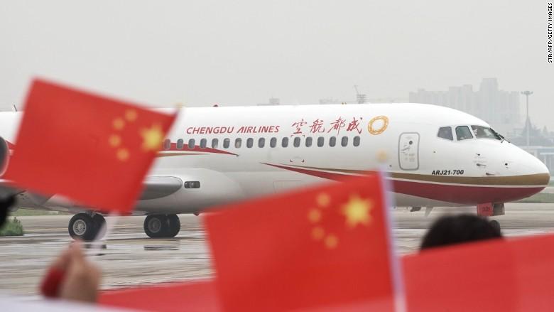 chengdu airlines comac ARJ21-700
