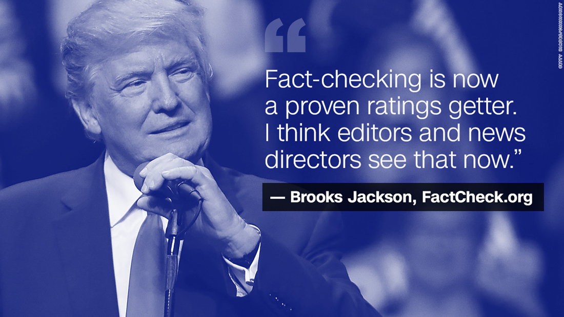 How Donald Trump made fact-checking great again