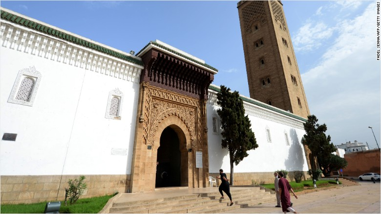 morocco mosque Rabat As-Sounna