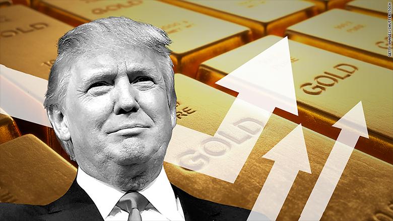 gold trump election