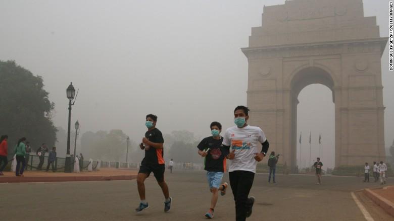 Inde pollution atmosphérique 2