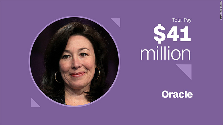 top paid women safra catz