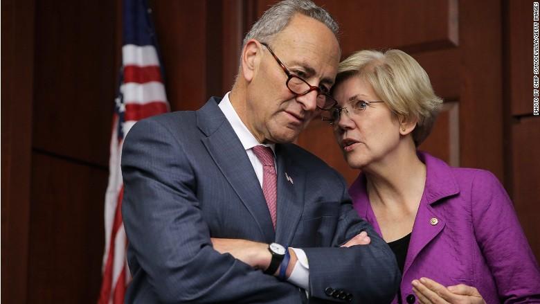 Elizabeth Warren Senate Chuck Schumer
