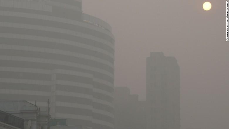 la pollution delhi en Inde