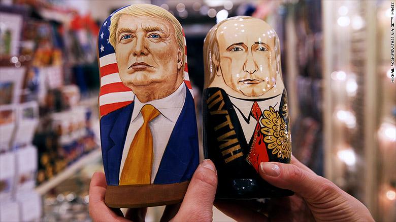 trump putin russian dolls