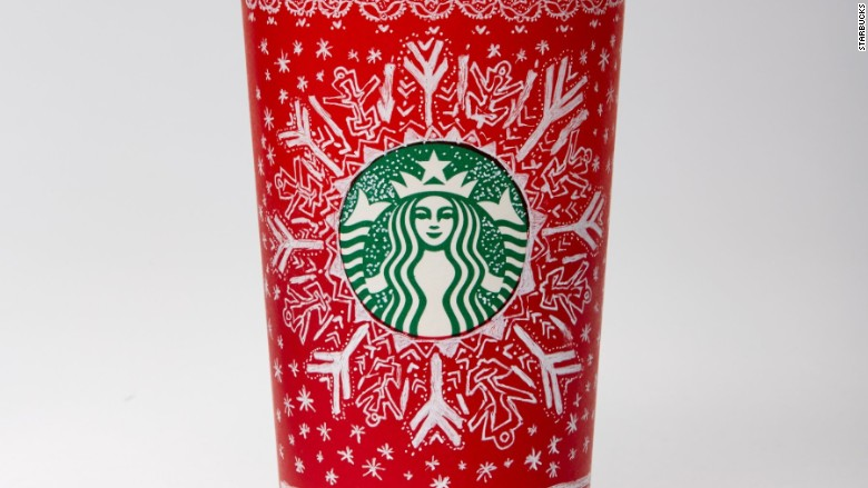 starbucks red holiday cup 2016