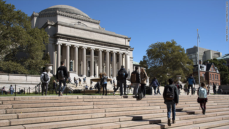 most expensive colleges 2016 columbia
