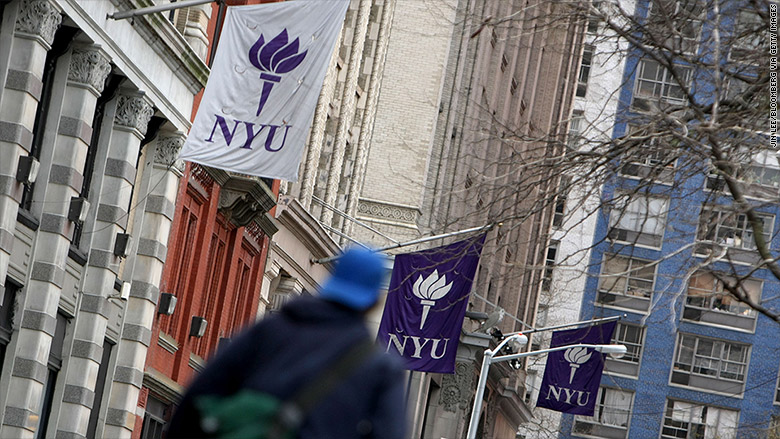 most expensive colleges 2016 new york university