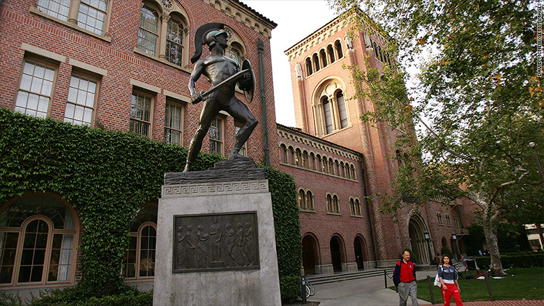 most expensive colleges 2016 university of southern california