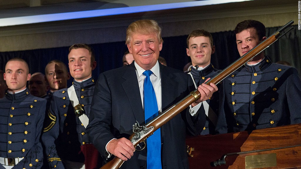 Why President Trump might be bad for gun sales