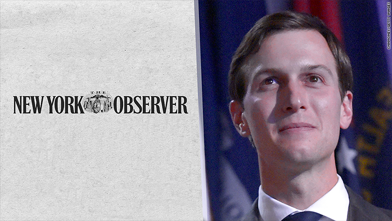 Jared Kushner to transfer Observer interest to family trust