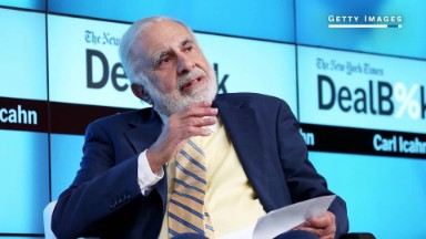 Carl Icahn: 'I'm not a Washington guy'