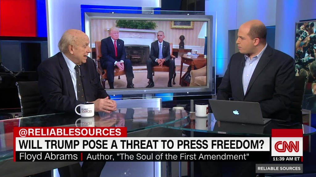How could President Trump limit press freedom?